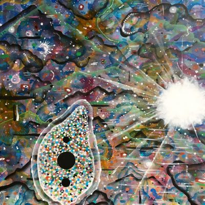 New Year 30 x 24 inches acrylic on canvas